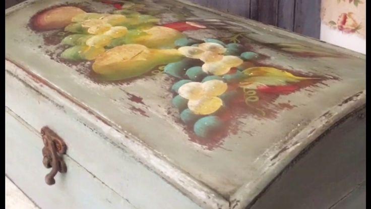 طريقة  صبغ وتعتيق الخشب بأكثر من لون rustique bois