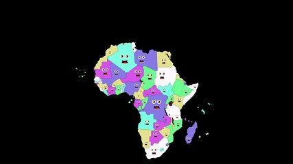 Africa Geography/African Countries Song/African Countries | موفيز هوم  Learn about the continent of Africa and all of its most recognized countries and capitals in the educational fun animated music video! Brought to you by Kids Learning Tube!\r \r Facebook: \r Subscribe: \r Tweet Us: \r Instagram: \r Add us on Google: \r \r Music: Copyright 2016 Kids Learning Tube\r Video: Copyright 2016 Kids Learning Tube\r \r Lyrics:\r We are the countries of Africa\r Our planets second largest…