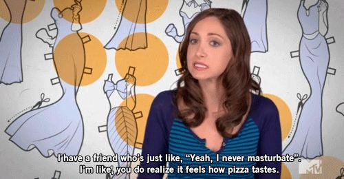 """On masturbation: 