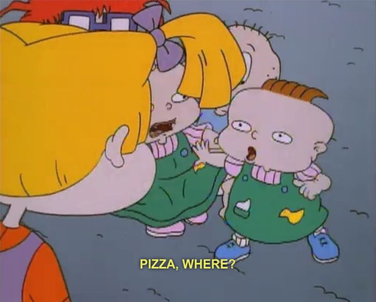 My old favorite tv show when I was a kid was Rugrats