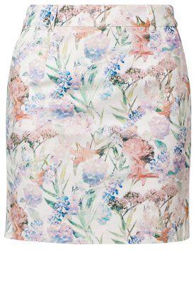 Bleistiftrock - flowers alison white