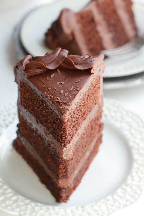 Lifemadesweeter   Best Triple Chocolate Layer Cake