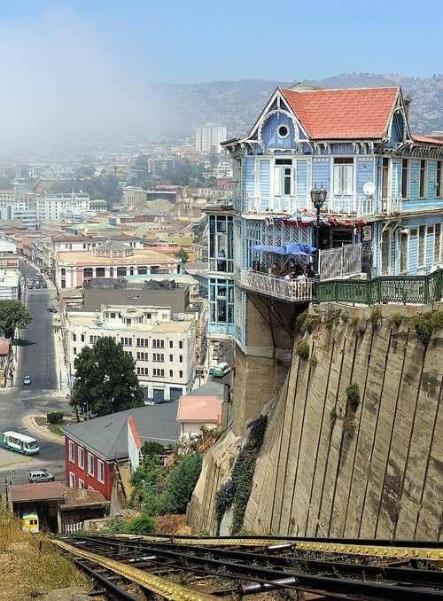 Valparaíso, Chile (via Around the World)