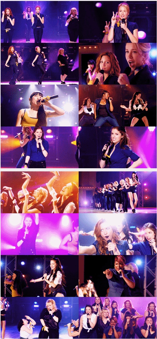 Best movie bands: The Barden Bellas in Pitch Perfect. Catch Frank on Film4, Wednesday 31st August.
