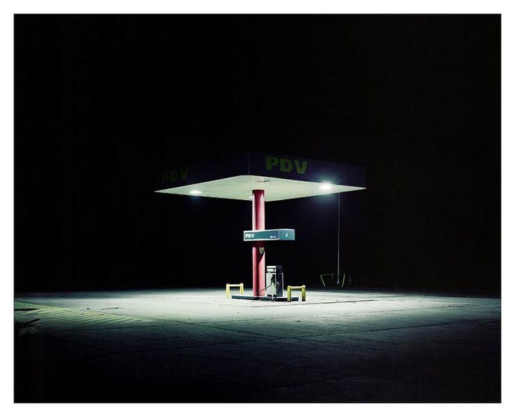Venezuela #1, Petrol Station, Venezuela 2007 by Ambroise Tézenas