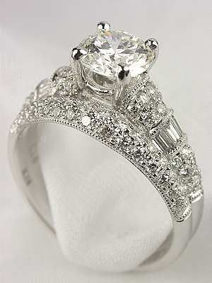 find this pin and more on wedding and engagement ideas antique style diamond bridal rings set