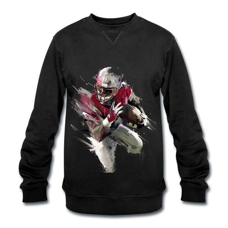 40B Streetart Runningback Dickies Sweatshirt by 40 Burger // Finest Football & Fashion. #americanfootball #football #40b #nfl #rannfl #sweatshirt #sweater #pullover #runningback #streetwear #dickies