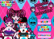 Juegos monster high twins babysitter