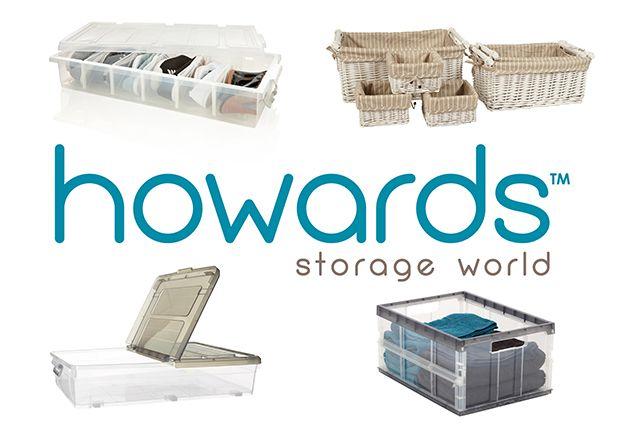 WIN 1 of 2 Howards Storage World bundles!