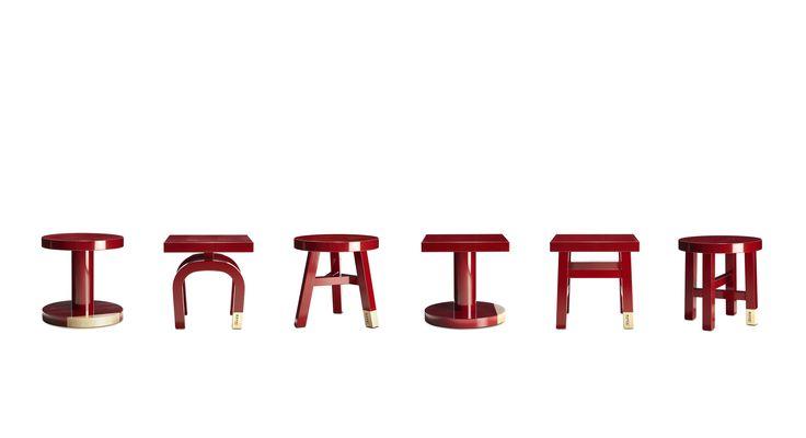 Утилитарная простота и изысканная яркость: кофейные столики Common Comrades. Дизайн: Neri & Hu.