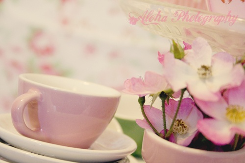 Vintage Tea Party by www.alohaphotography.co.uk