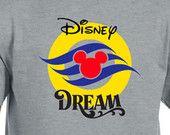 Disney Dream Disney Cruise family shirts