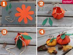 DIY Originelle Geschenkverpackungen: Kürbis Box - Deine beste Freundin hat im Herbst Geburtstag? Wie wäre es dann mit einer DIY Kürbis-Geschenk-Box? Lass Dich in unserem mydays Magazin inspirieren!