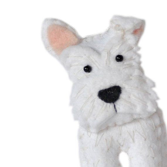 Cute Plush Dogs Sewing Pattern Set Two Instant Download Felt Dog