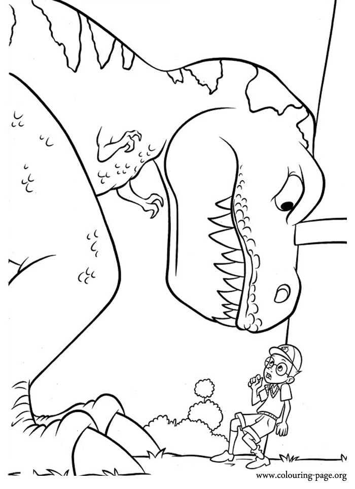 Meet The Robinsons Coloring Picture