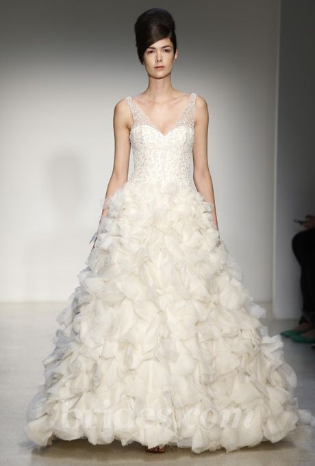 Kenneth Pool wedding dress - Fall 2013