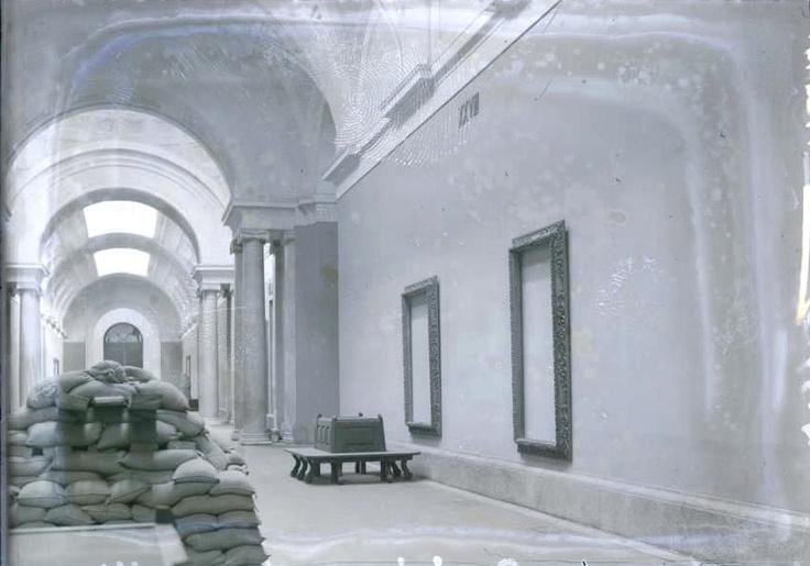 El Museo del Prado evacuado para salvar el patrimonio en la Guerra Civil.