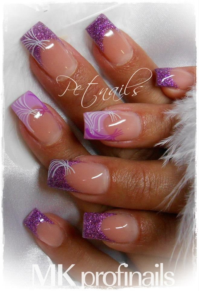 Nailsymo: 17 Best Ideas About Purple French Manicure On Pinterest