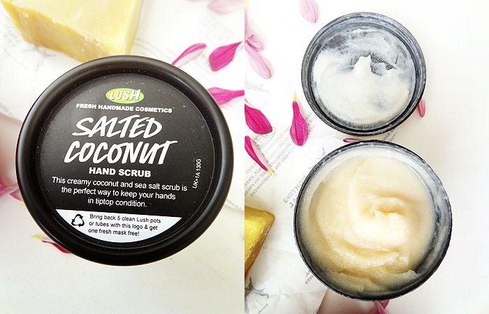 Lush Haul Salted Coconut Hand Scrub