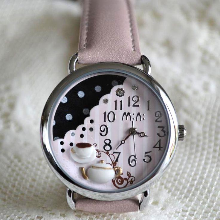 MINI hodinky - Čas na kávu