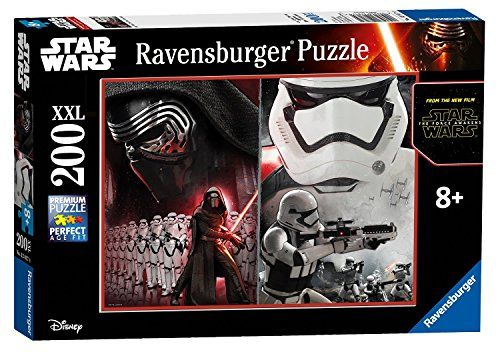 Star Wars Kylo Ren and Stormtroopers Episode VII 200 Piece Double Pane Ages 8