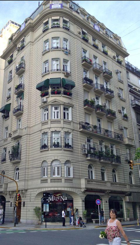 Callao y Juncal. Recoleta, Buenos Aires.