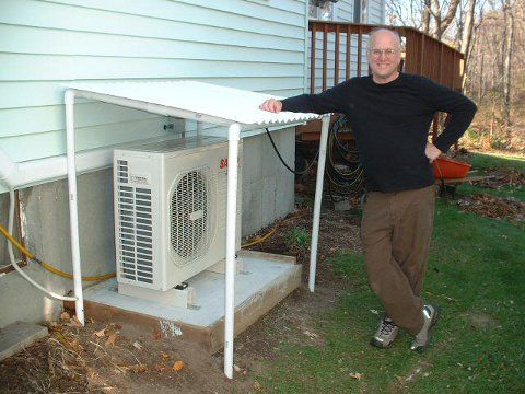 Post image for DIY Sanyo Air Source Heat Pump Install – Finishing Touches & Results
