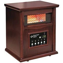 Comfort Zone Ir Quartz Heater (pack of 1 Ea)