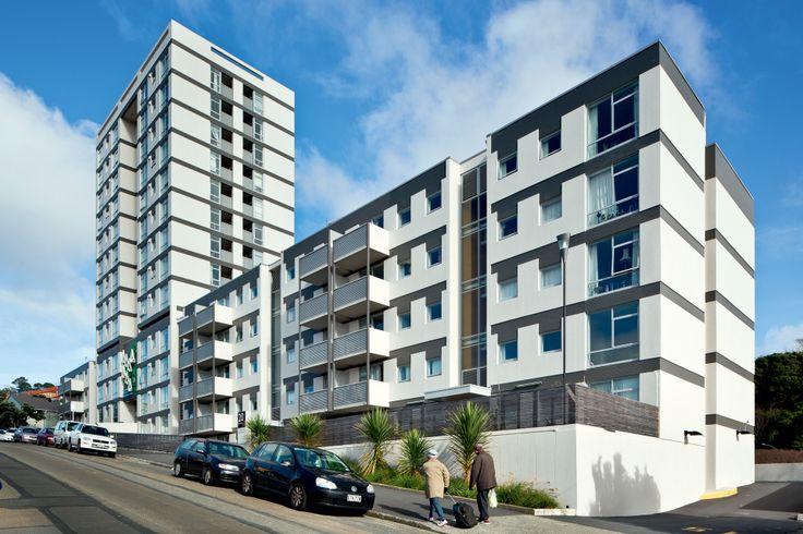 Central Park Apartments (refurbishment), Wellington, Novak + Middleton.