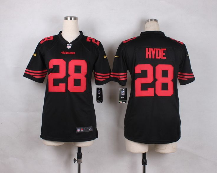 nike carlos hyde black alternate youth stitched nfl elite jersey and jake butt 80 jersey. find this