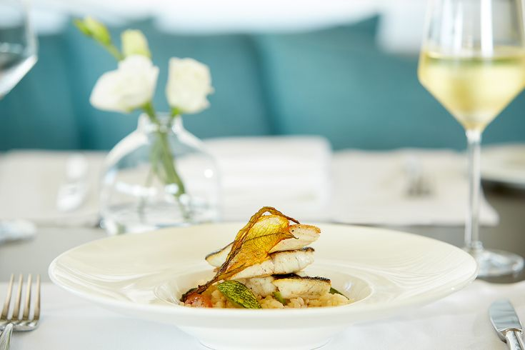 Do you prefer seafood? Then Risotto with Sea bass & Zucchini Blossoms is more than a tasty plate!