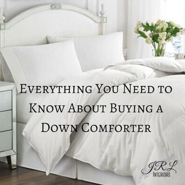 how to select a comforter