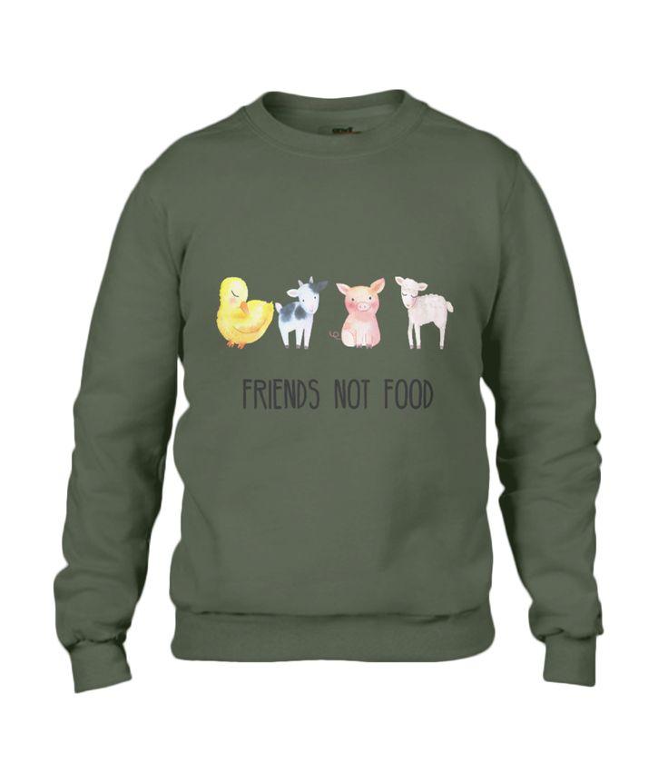 Friends Not Food Men's Sweatshirt