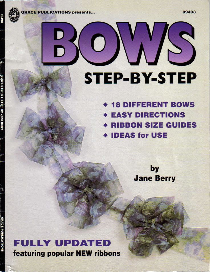 Bows step by step
