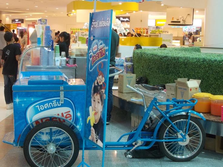 Ice cream cart in Bangkok
