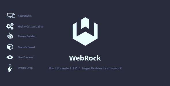 WebRock - Page Builder Framework for HTML5
