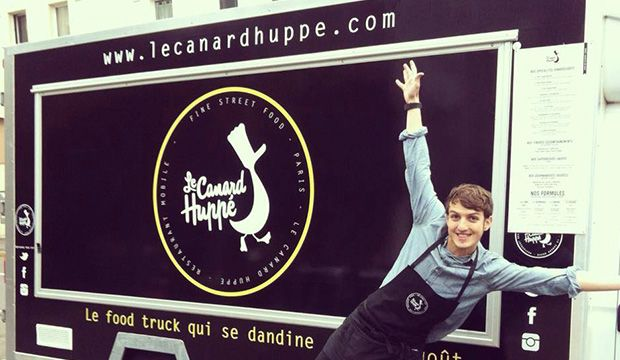 Le Canard Huppé : un food truck dédié aux produits du sud-ouest