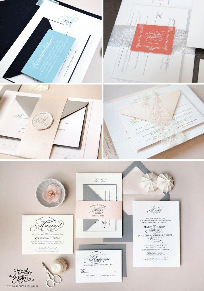 Assembling Wedding Invitations