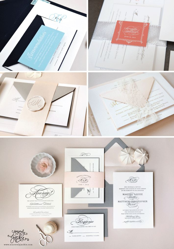 17 best images about a wedding invite tied up on pinterest wedding invitation design metallic. Black Bedroom Furniture Sets. Home Design Ideas