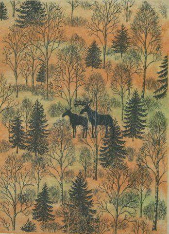 """""""Syksy Metsässä"""" by Inari Krohn"""