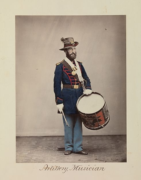 Attributed to Oliver H. Willard (American, active 1850s–70s, died 1875). Artillery, Musician, 1866. The Metropolitan Museum of Art, New York. The Horace W. Goldsmith Foundation Fund, through Joyce and Robert Menschel, 2010