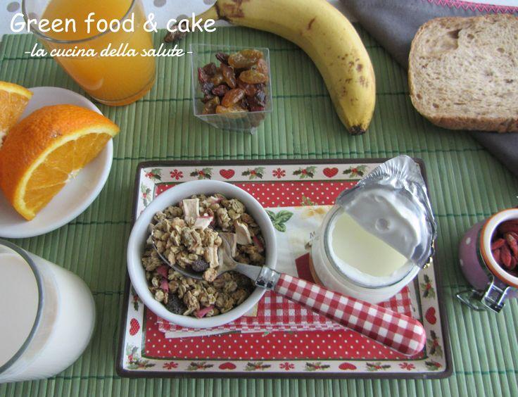 La colazione dello sportivo http://blog.giallozafferano.it/greenfoodandcake/la-colazione-dello-sportivo/