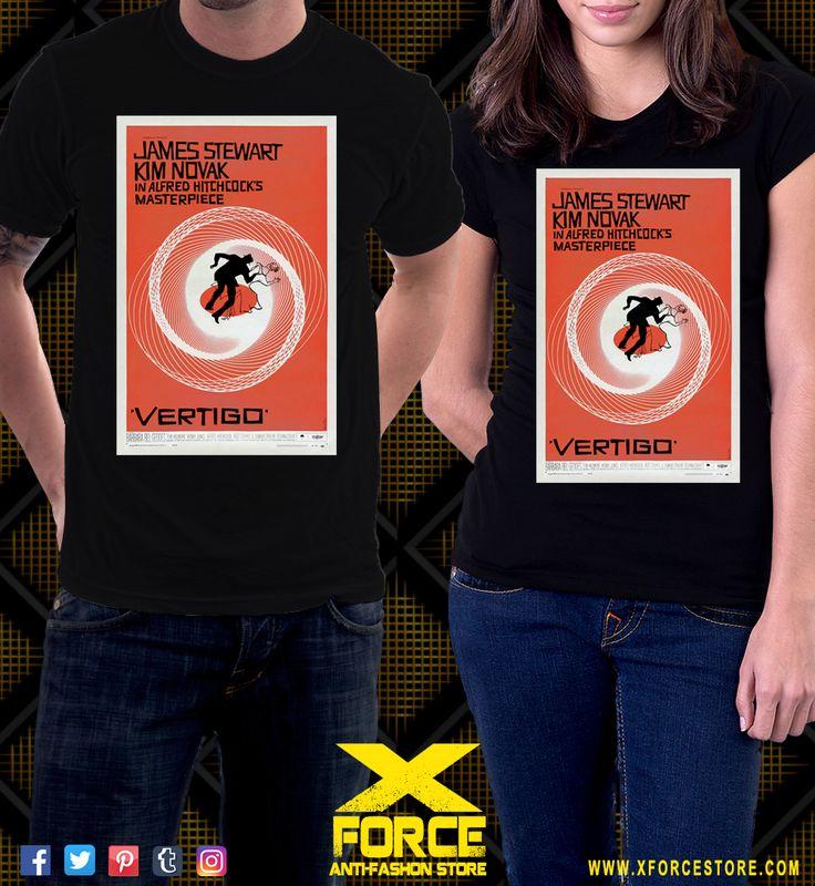 Camiseta Um Corpo Que Cai Vertigo Alfred Hitchcock Cult