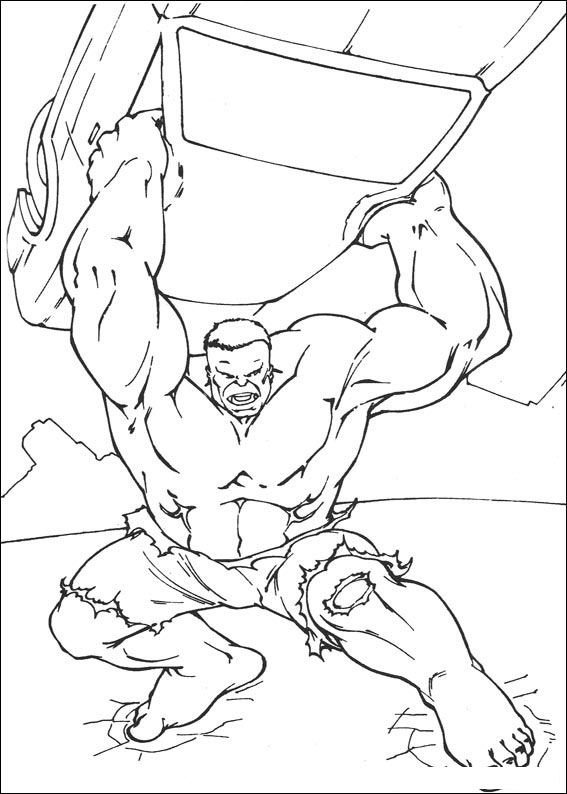 99 Disegni Di Hulk Da Colorare Kids Hulk Coloring Pages