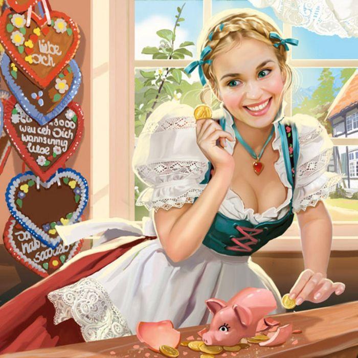 Свиночка-копилочка. Волшебные иллюстрации Дорониной Татьяны (Doronina Tatiana).