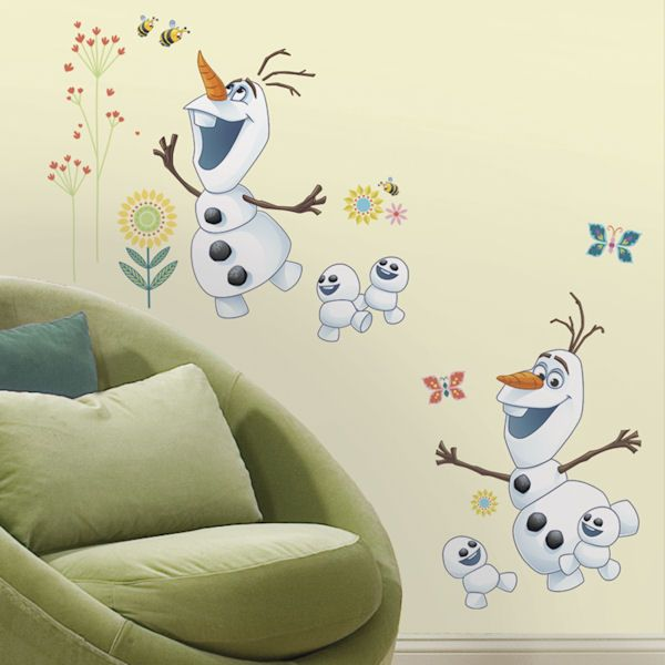 H Disney Frozen Fever Olaf Peel And Stick Wall Decal, Multi