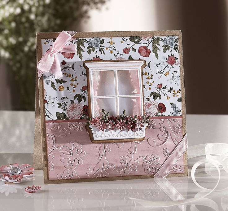 Created using the English Country Garden collection, part of the Sara Davies Signature Collection from Crafter's Companion