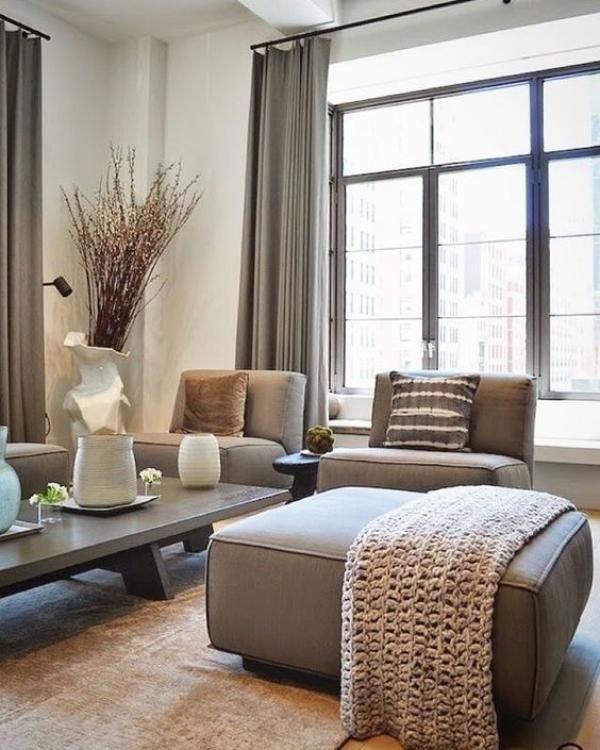 30 Inspirational Ideas For Living Rooms With Skylights: Inspiring Taupe Home Decor & 30 Design Ideas