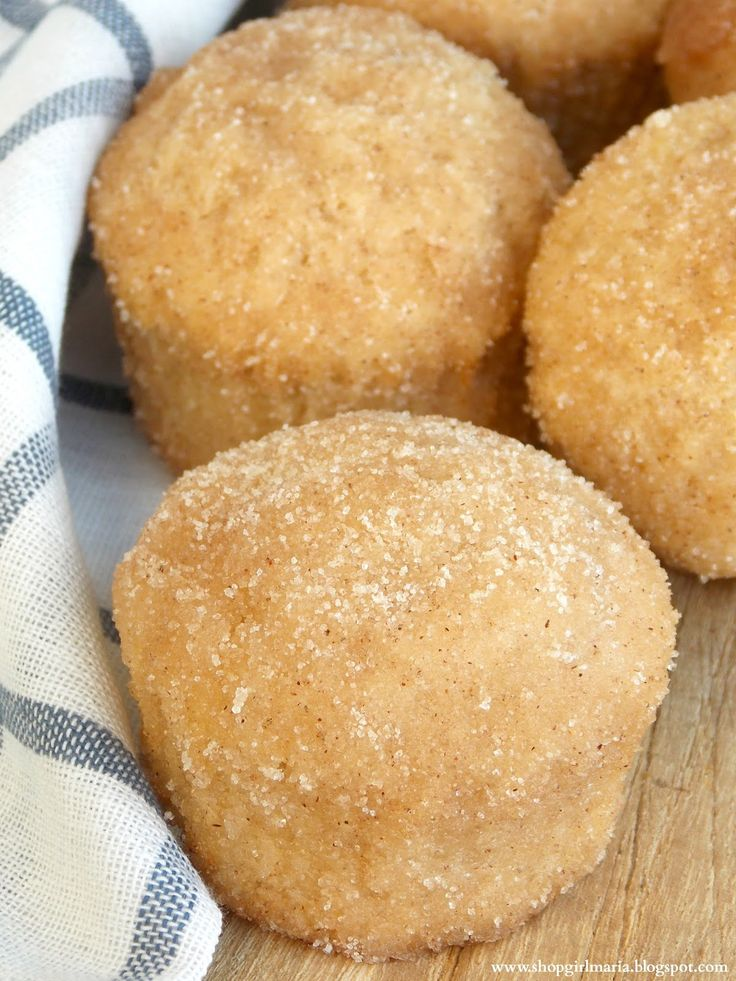 Cinnamon Sugar Donut Muffins | A Homemade Living