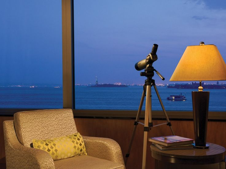 The first hotel to open near the World Trade Center after the September 11 attacks, this Ritz-Carlton was guaranteed the affection of New Yorkers. Its recommendation relies on more than sentiment: The rooms facing the harbor offer postcard views of the Statue of Liberty and Ellis Island, plus telescopes to take full advantage (get a corner Liberty Suite for the best views). The light wood furnishings, fabrics in shades of sage and beige, and contemporary art by scores of New York artists…